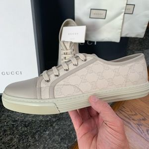 NEW! Gucci double G  MIRO SOFT/BIANCO-MY sneakers!